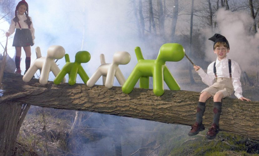 Assise en forme de petit chien – modèle Puppy