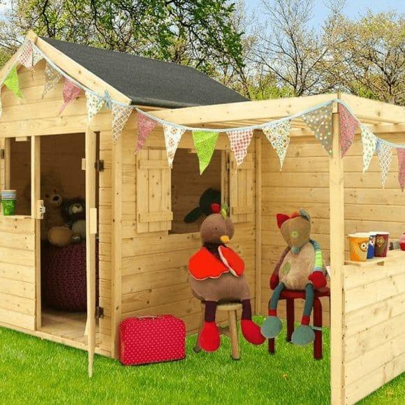 Nouvelles cabanes pour enfants – décembre 2018