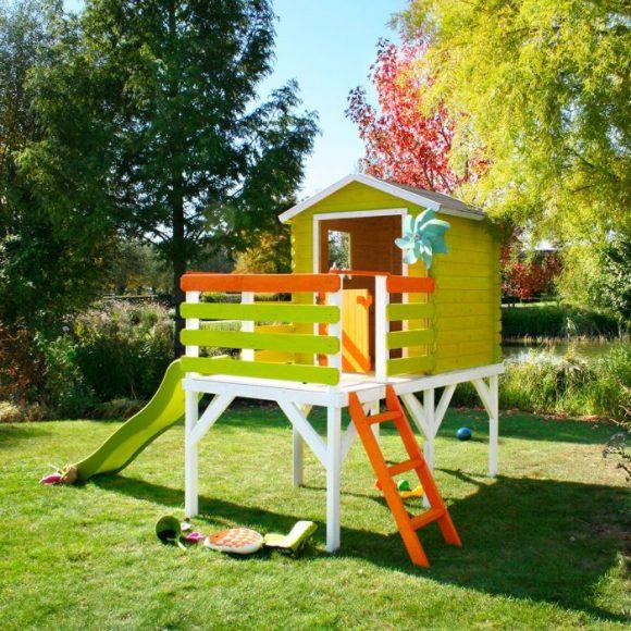 Covid-19 : faites l'acquisition d'une cabane pour occuper vos enfants