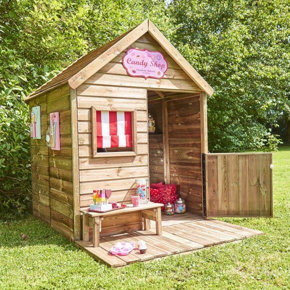 Pourquoi une maisonnette en bois est un bon choix